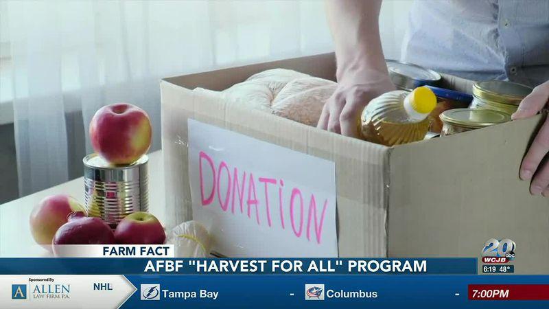 "Farm Fact: AFBF ""Harvest for All"" program"