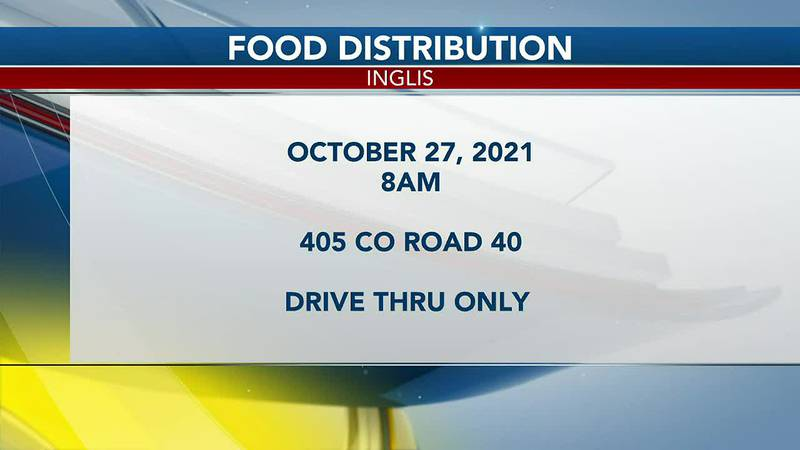 Farmshare and AMVETS host food distribution in Inglis
