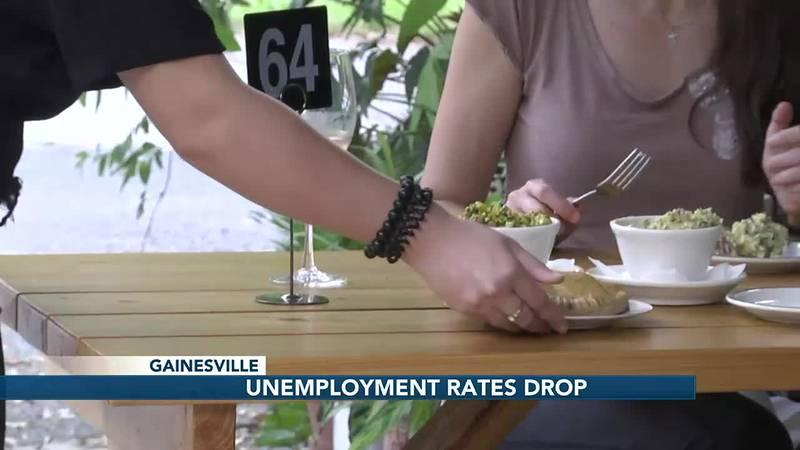 Wine shop cheers to significantly low unemployment numbers across NCFL