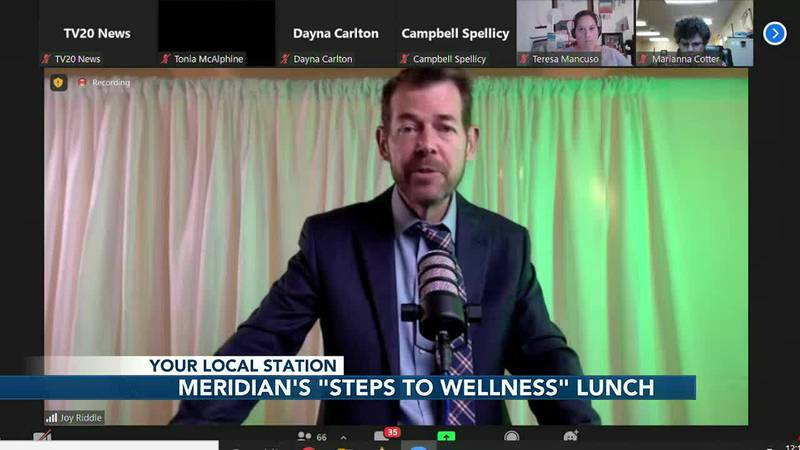 """Meridian Behavioral Healthcare livestreams fifth annual """"Steps to Wellness"""" lunch"""