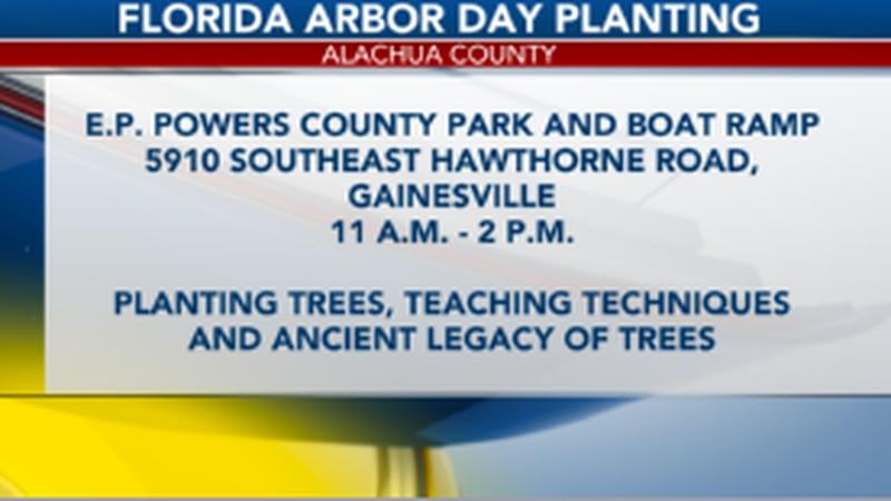 Florida Arbor Day in Alachua County