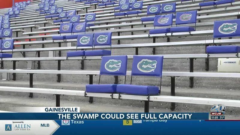 Gator football games could be at full capacity this fall