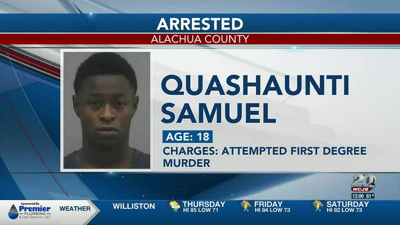 Quashaunti Samuel, suspect arrested in connection to Holly Heights shooting