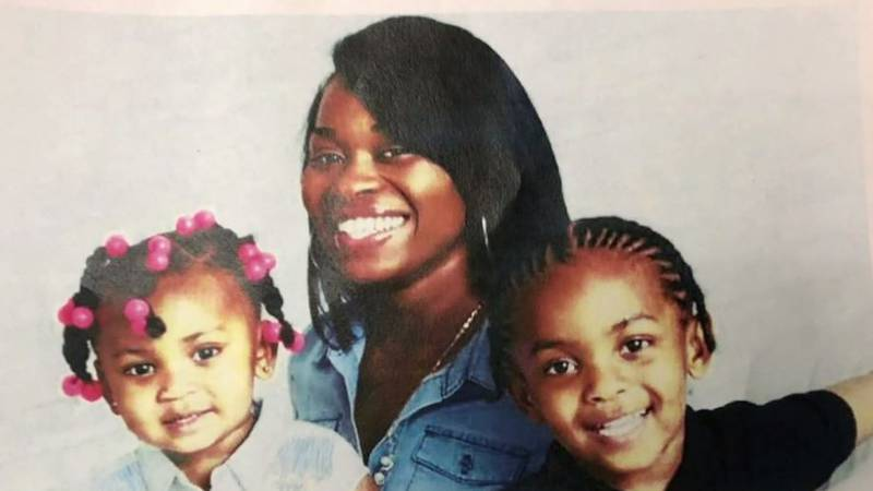Police arrested 28-year-old Jamerria Hall after her children, 6-year-old Da'neria Thomas and...