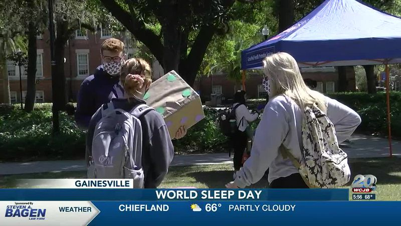 The Game of Sleep at UF for World Sleep Day