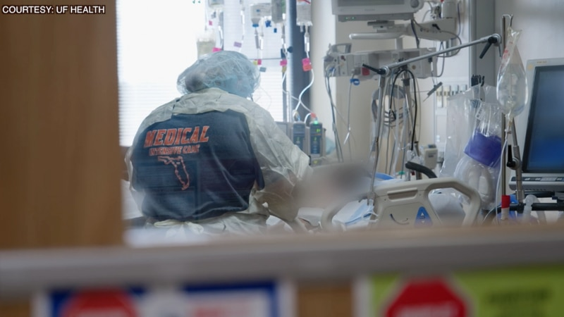 """""""It's demoralizing""""; Inside look at overflowing ICU floor leaves UF Health nurses, doctors..."""