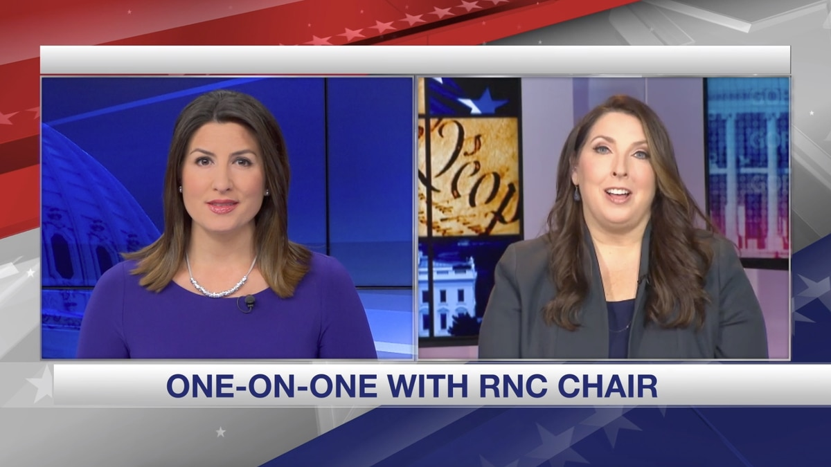Gray Television Washington Bureau Chief Jacqueline Policastro speaks with Republican National Committee Chair Ronna McDaniel about the decision to move President Trump's nomination speech to Jacksonville, Fla. (Source: Gray DC)