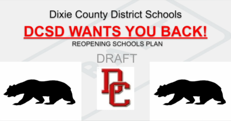 Dixie County releases start of school draft plan