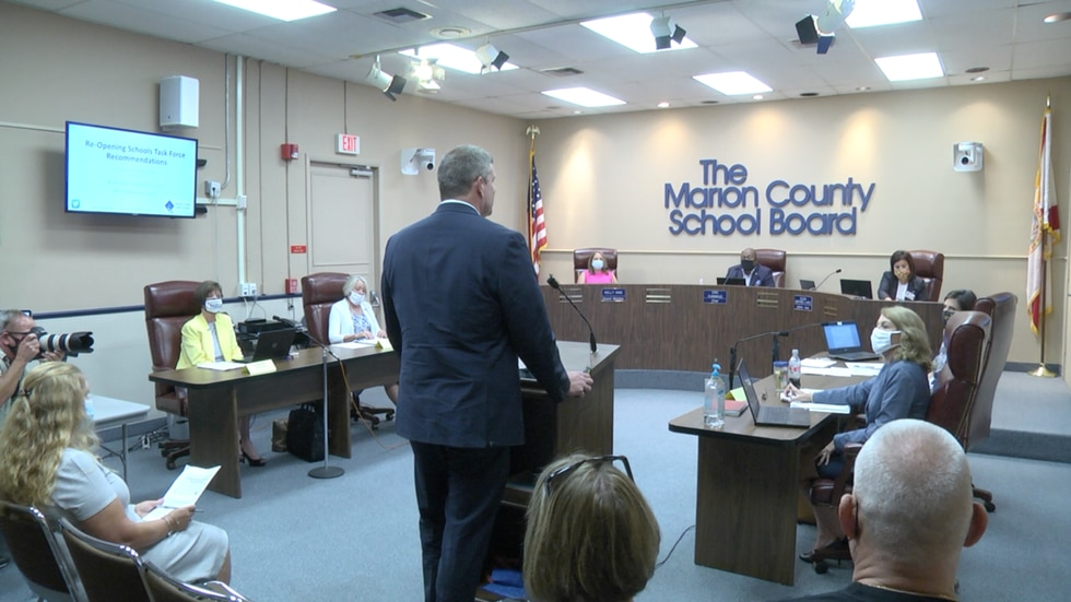 The Marion County School board has created a Re-open Schools Task Force to safely open schools for students and staff.