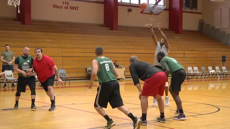 Columbia County law enforcement face off in charity basketball tournament