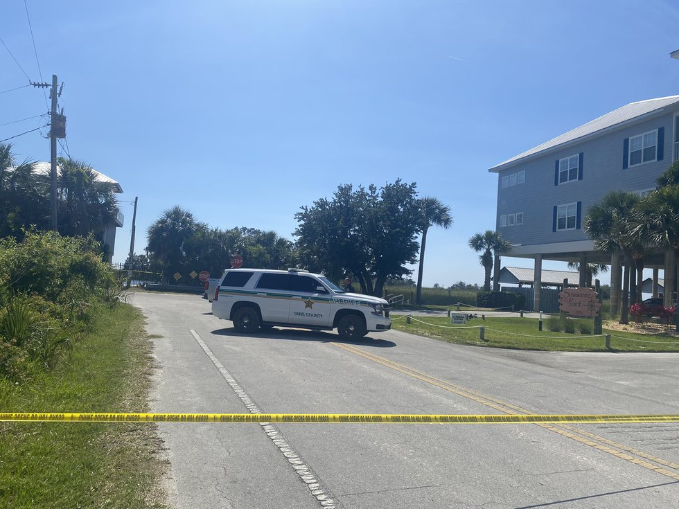 Three bodies, presumed to be the man and his two sons, 14 and 11 years old, were found near the...