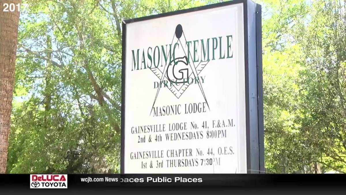 Gainesville Masonic Lodge 41 will hold a rededication ceremony Wednesday at its new location.