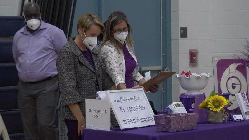 Gainesville High principal hopes career fair will combat inconvenient teacher, staff shortage