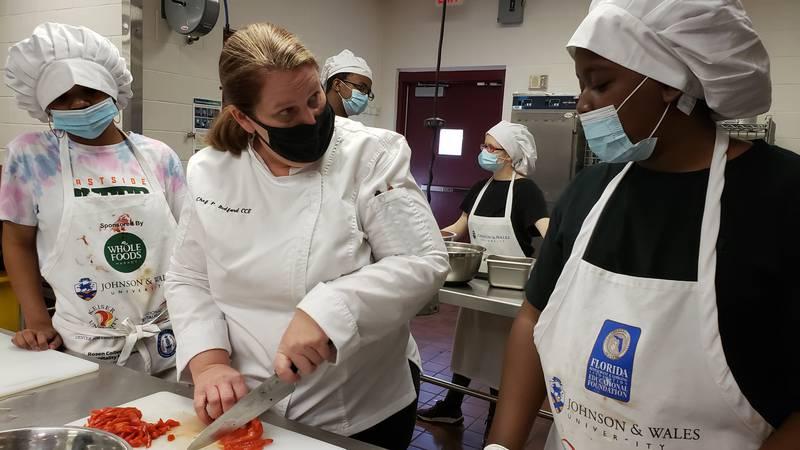 Eastside High School Chef named finalist for national award