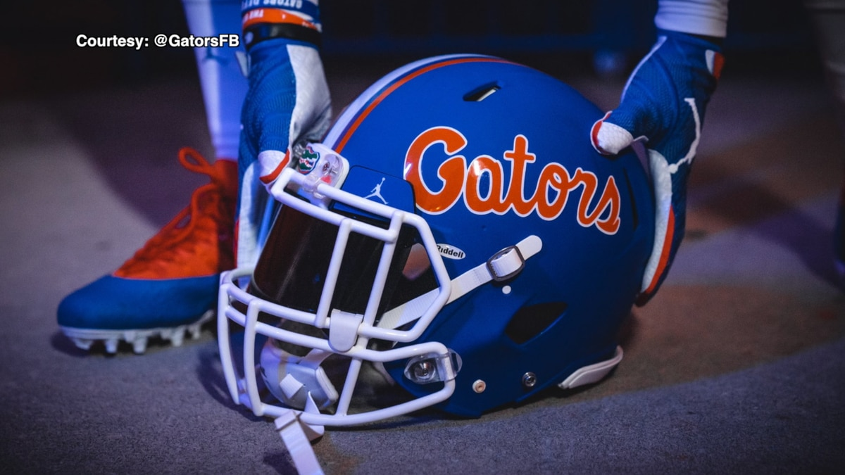 Gators Blue Helmet