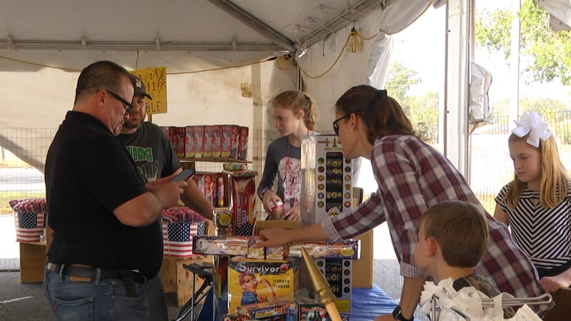 Kimberly Jones and her husband own X-Treme Fireworks in Ocala. The family has been in the...