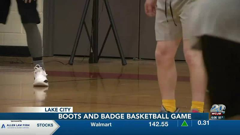 Columbia County first responders face off in charity basketball tournament