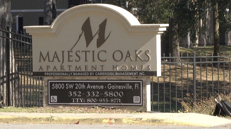 Alachua County Sheriff's Deputies say he fired several gunshots at Majestic Oaks Apartments on...