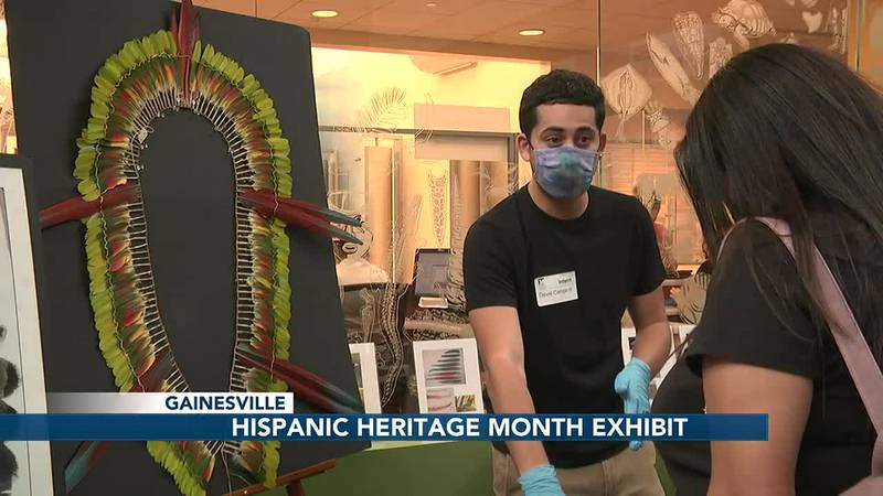 Florida Museum of Natural History displays Hispanic Heritage Month exhibit