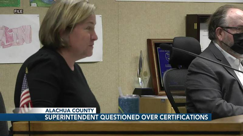 Superintendent Carlee Simon responds to qualification skepticism in heated Alachua County...
