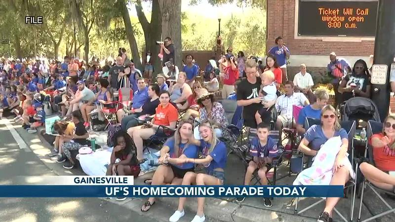 99th annual UF Homecoming Parade happening today