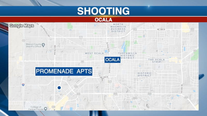The shooting happened in the area of Latigo 27 and Promenade Apartments on SW 27th Avenue.