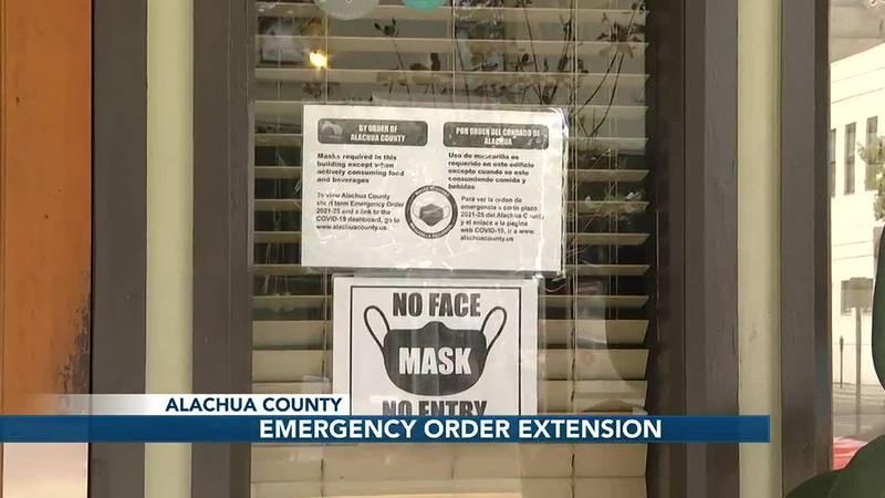 Alachua County mask sign