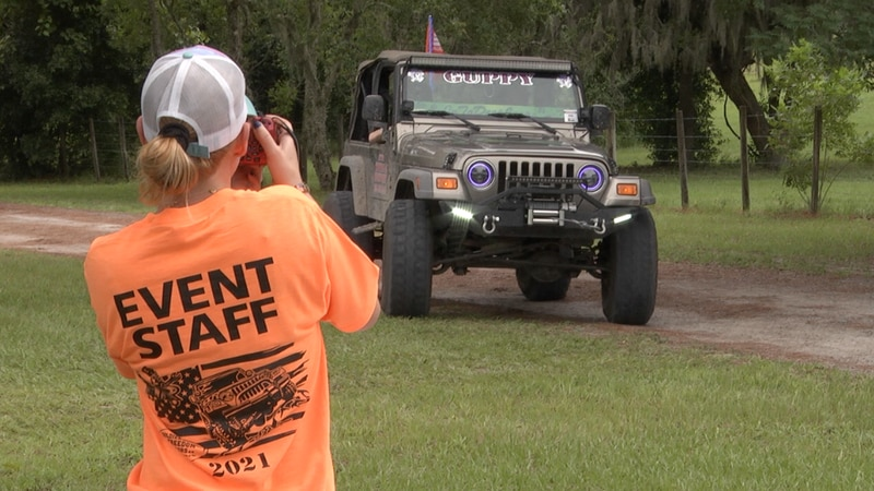Jeepin' 4 Vets event draws hundred to NCFL veteran non-profit