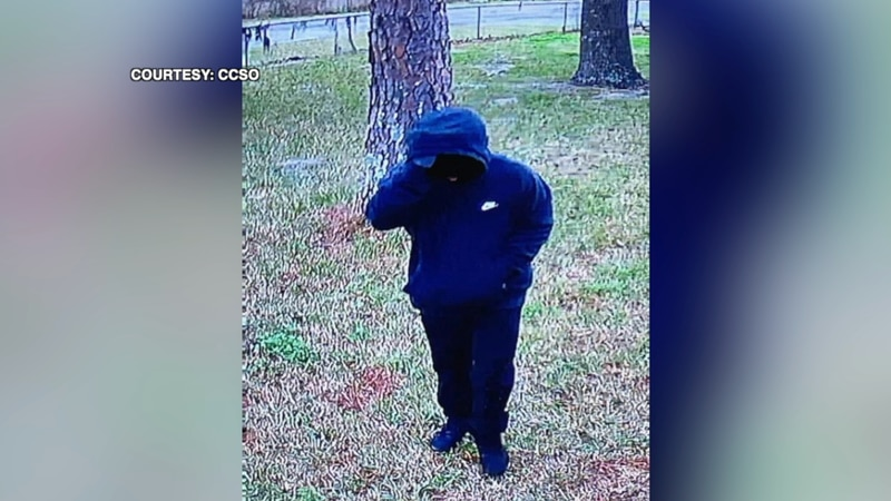 CCSO tells TV20 that the suspect was armed with a black hand gun and  was able to steal a safe...