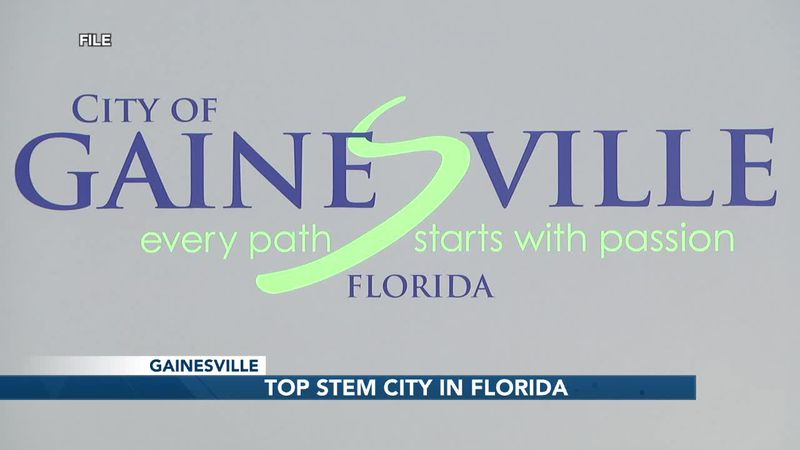 Gainesville recognized for dedication to STEM careers