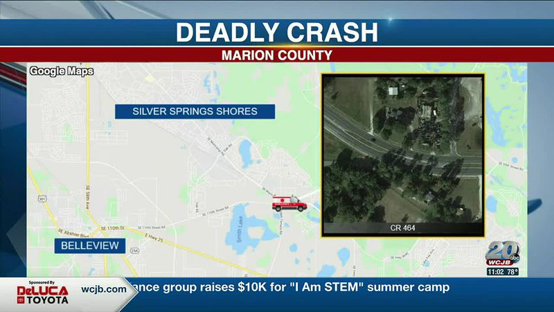 Two dead and one injured in marion county crash.