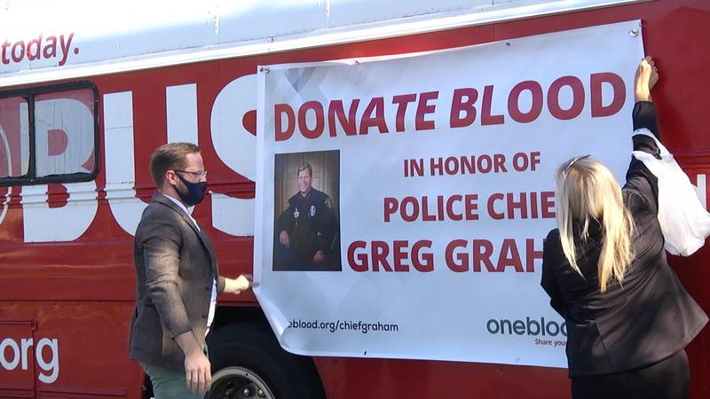 The blood drive was done in partnership with OneBlood which conducted the drive. Everyone who...