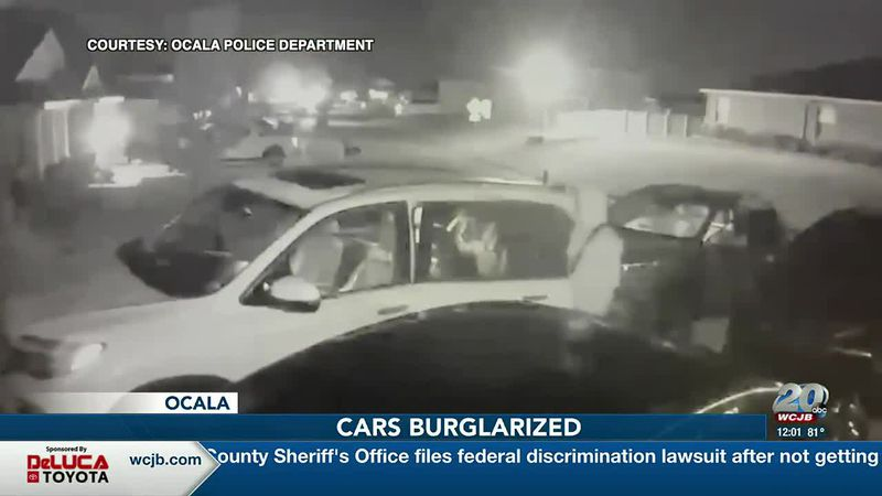 Caught on Camera: Police are looking for a group seen burglarizing cars in the Meadows of...