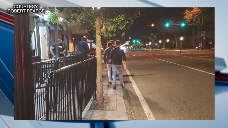 Pictures of blocked sidewalks in downtown Gainesville has one city leader concerned about...