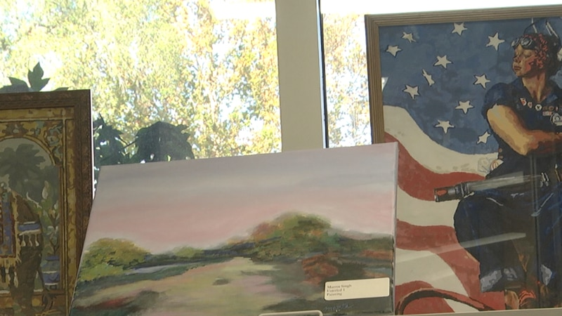 For some veterans, creating art is a pleasant distraction, for others, it's a favorite pastime...