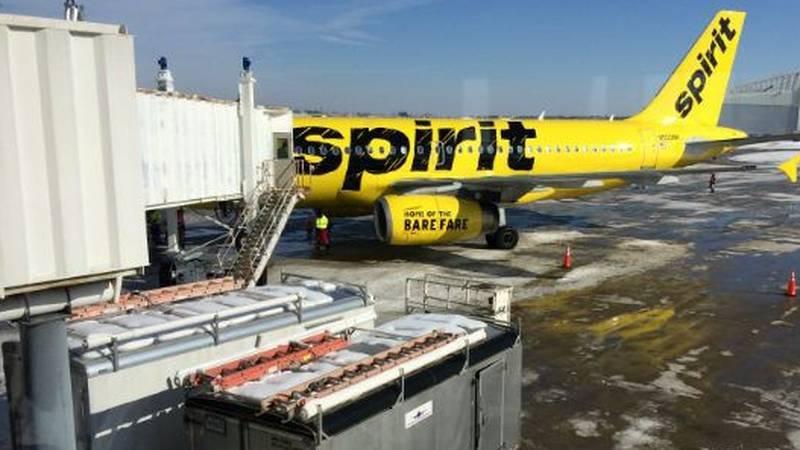 Spirit Airlines (Source: WOIO)