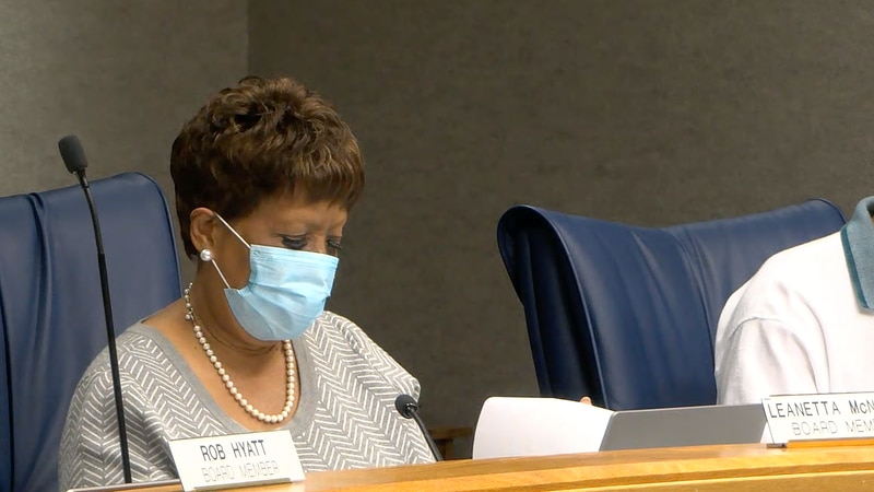 Alachua County School Board members voted unanimously to extend the mask mandate by eight weeks.