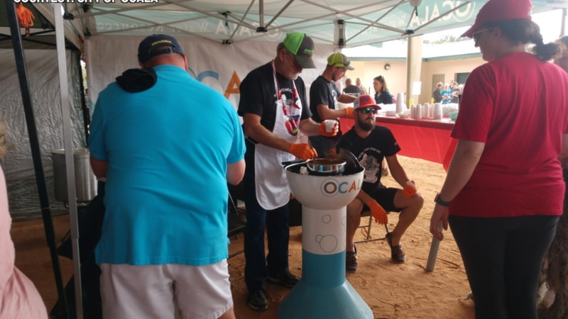 The annual event hosted by the Cornerstone School in Ocala drew nearly eight thousand people to...