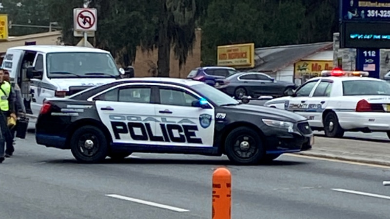 Ocala Police are investigating after a vehicle hit and killed a pedestrian on Pine Avenue