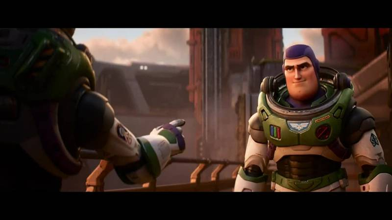 """Pixar released the first trailer for """"Lightyear"""" Wednesday."""