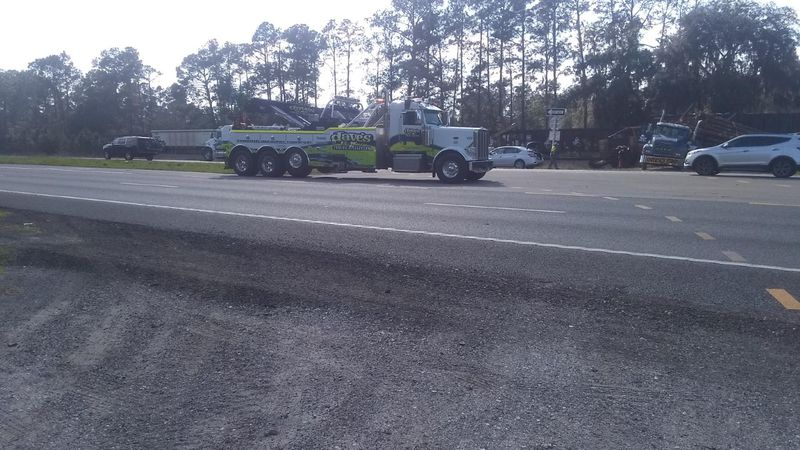 Deputies with the Alachua County Sheriff's office say no one is hurt. It happened near US301...
