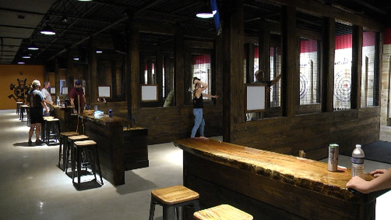Gainesville has a new location to throw sharp objects