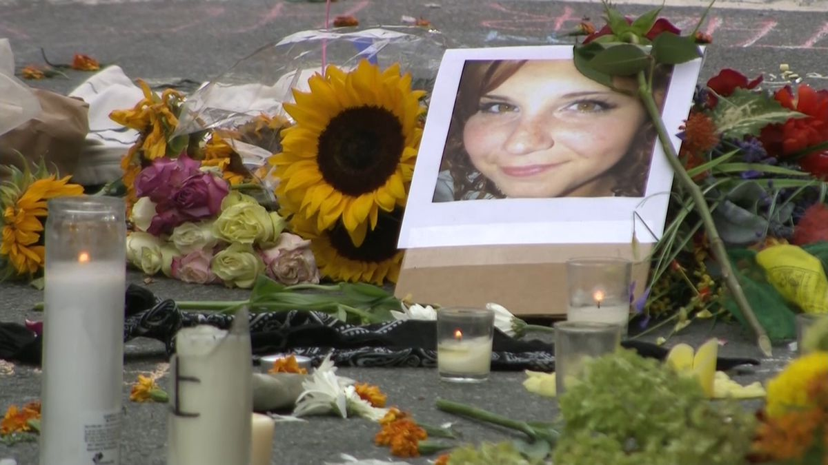 In 2017, the Charlottesville, Virginia community mourned the loss of 32-year-old Heather Heyer, a peaceful counter-protester to the racist Unite the Right rally. A self-proclaimed white supremacist murdered her and injured dozens of others by ramming his car into a crowd. (Source: CNN)