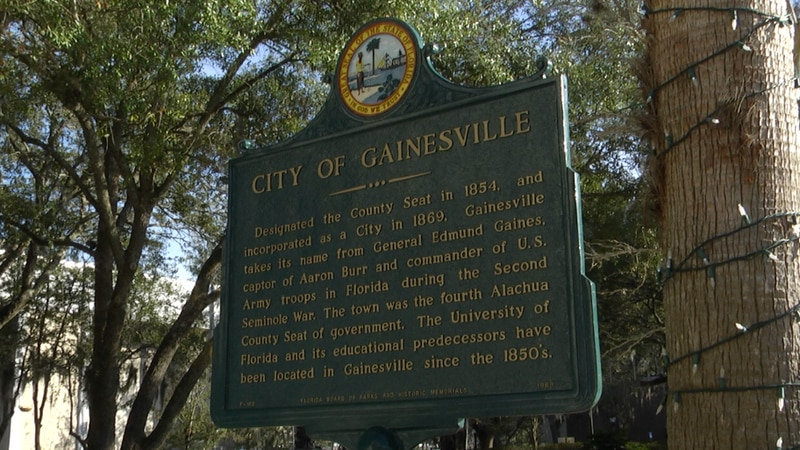 Gainesville city commissioner discussed their evaluations of the cities six charter officers at...