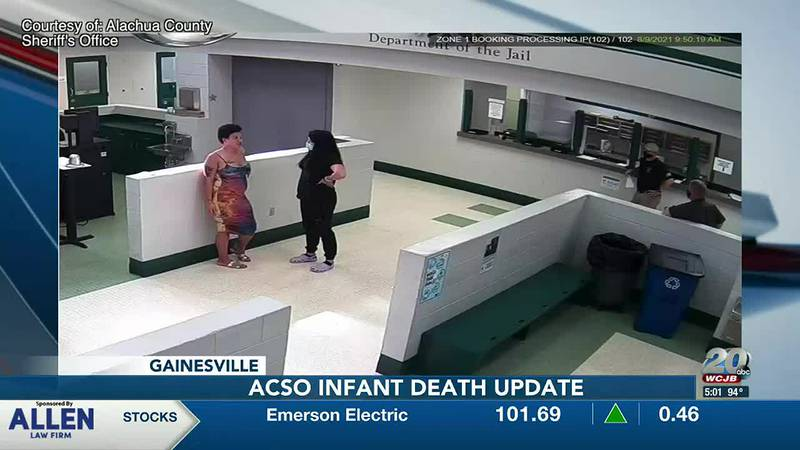 ACSO releases images from the day a pregnant woman gave birth in jail