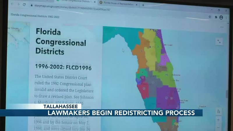 Florida begins drawing legislative districts