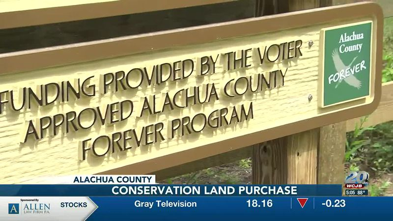 Alachua County Forever sign