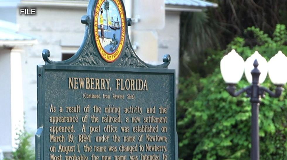 Newberry sign
