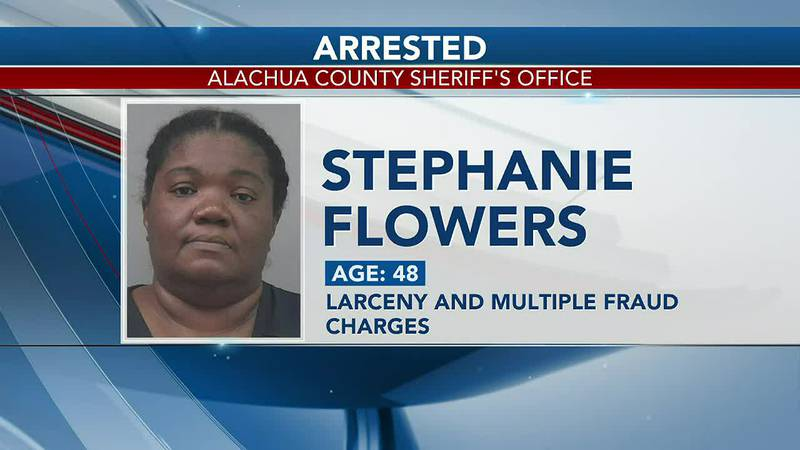 Gainesville woman arrested after fraudulently charging deceased boyfriend's bank account