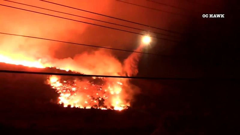 Life-threatening fires, floods and landslides across the country